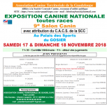Exposition Canine Nationale du Gosier - Novembre 2018